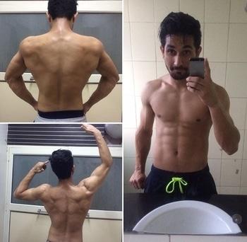 #RoposoTalentHunt #Gym#fitness#motivation#transformation#flexing