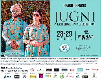 #grand #openingday #jugni #fashion #lifestyle #exhibition #punjab #ludhiana #shopaholic #invitation #parkplaza #amilliondollaraffair #nehaamitsingla #chandigarh #canada #india #dubai @turquoise_by_rachit @deepikasdeepclicks @meenakshiduttmakeoverschd @sukhtrehan @sandytrehan1 @ajsandhuofficial @rubiachauhanofficial @amilliondollaraffair @nehaamitsinglaofficial @singla.amit08