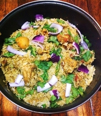 Chicken Pulao from my kitchen 😋😊 #foodlove #cookingskills #loveforfood #chickenpulao #foodfood #mexico🇲🇽