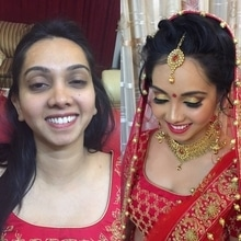 Contemporary bridal makeup done by Richa Malik's Makeovers. For such bridal looks book your bridal makeup now. (9891016653) #makeupartist #bridalmakeup #bridalmakeupartist #weddingmakeup #gurgaonmakeupartist #delhimakeupartist  #freelancemakeupartist #indianwedding #indianwedings #indianbridalmakeup  #bridal