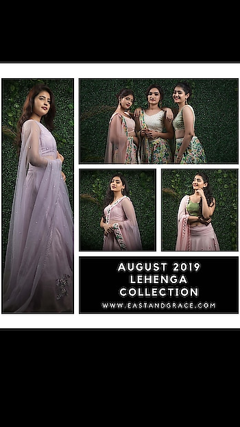 ‭‭‭‭‭‭‭‭‭‭‭‭‭‭‭‭‭‭‭‭‭‭‭‭‭‭‭New Lehenga Collection August 2019!  30% limited time discount here https://www.eastandgrace.com/collections/august-2019-lehenga-collection  Please contact us at care@eastandgrace.com for any questions.  With #Love, EAST & GRACE www.eastandgrace.com #eastandgrace #saree #blouse #happyshopping #beautiful #indian #sari #desi #lehenga #ribbonembroidery #handembroidery #fashionista #fashion #model #photooftheday #picoftheday #bestoftheday #celebstyle #wedding #milanfashionweek #portraitphotography #stillphotography #modeling #fashionphotography #portfolio #portraitpage #portraits #photoshoots #punjabiwedding #fashionista #indianblogger #fashionblogger #follow #repost #look #lookbook #Indianfashionblogger #streetstyle #ethic