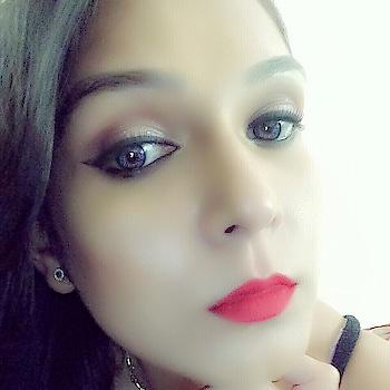 #makeupartistindia #makeuplovr #selfmakeup #maclove #rubywoo #maybellinethecolossal #maybellline glitter mania  #colourbarblush #colorbar mascara #studiofixfoundation #studiofixpodwer #colouredlenses #highlight #contour #strobbing #selfiemode #glittereyes #krylonbase #kajaleyes