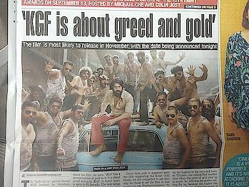 new still in kgf movie