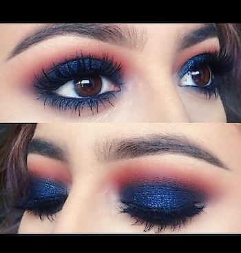Blue smokey eyes👁️💙 #eyes#blueeyes#smokeyeyes