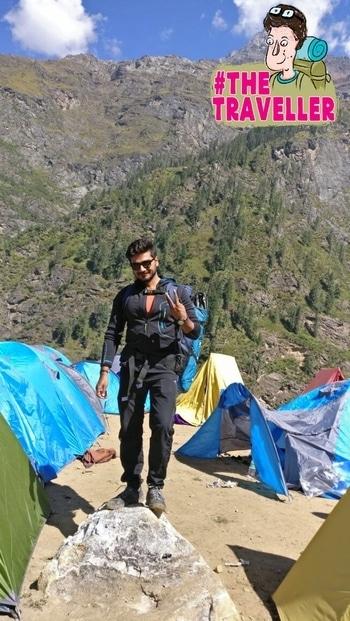 #solo #traveller#kheerganga #treking#adventure #thetraveller