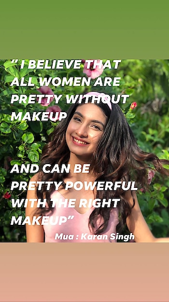 """''I believe that all women are pretty without makeup  and can be pretty powerful with the right makeup"""" . . . No Edit pic #naturalbeauty #naturalmakeup #karansinghmakeupartist #bollywood #celebrity #naturalmakeup #naturalhairstyles #makeuplover #nofilter #tvcommercial #covid19  @karansinghmakeupacademy  www.karanmakeupartist.com"""