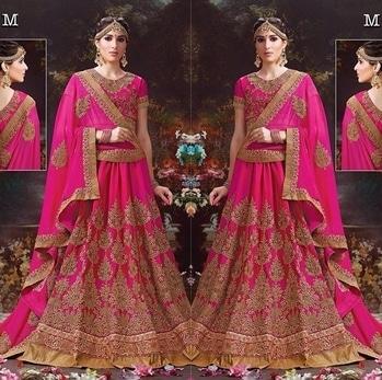 Pink Silk Butter Crepe Heavy Lehenga Choli Set Product code - FCL481  Available at www.fashionclozet.com  Watsapp - +91 9930777376 Email -  info@fashionclozet.com Or DM for enquiries. #indianwear #indianfashion #indianwedding #palazzopants #lehengasaree #beautiful #bollywood #priyankachopra #mumbai #indianstyle #desi #punjabisuits #delhi #bridalsarees #designersaree #designerwear #saree #punjabiweddings  ##desibeautyblog #blogger #fashionblogger #weddingphotography #palazzo #eid #eid2017 #ramadan #ramadan2017 #eidfitri #eidfashion