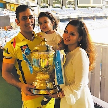 Dhoni is not a person, it's an emotion :) After winning IPL 2018, MAHI with his wife and Daughter!!! #latest #trending #dhoni #mahi #csk #csk_fan #ipl #sportstv #sport #magazine #bollywoodblogger #sportstvchannel