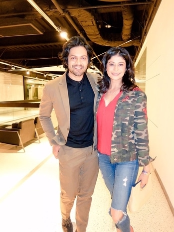 So lovely to meet you and see your brilliant performance in Victoria & Abdul. So proud of you #alifazal  #victoriaabdul