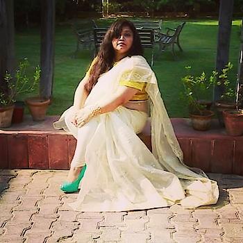 Saree magic #ropo-love #ropo-good #ropo-style #roposobeauty #lovephotography #ropo-beauty #roposostory #saree #sareeswag #beautyblogger #fashionbloggerindia #muaindia #khoobsooratblog #happysoul #happylife