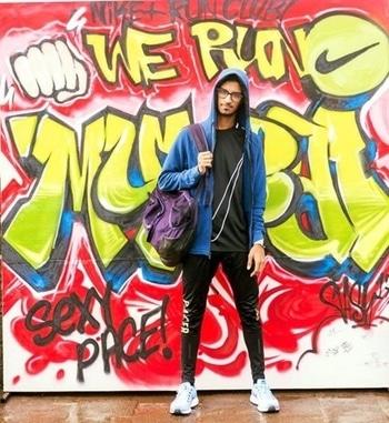 #nrcmumbai #nrc #graffiti #art #streetstyle #lifestyle #life #mumbai #quotes #photographer #photoshoot #photography #nike #nikesportswear #nikemumbai #everyrunhasapurpose #jacket #sneakers #nikesportswear #swoosh #creative #running #runner #run #athlete #nike #nikesportswear #picoftheday #justdoit