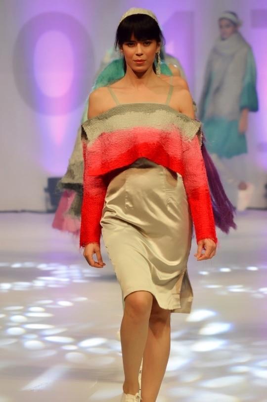 When In Pune Just Rock It Like Crazy #SOFT Fashion School Graduate Show ❤️❤️❤️