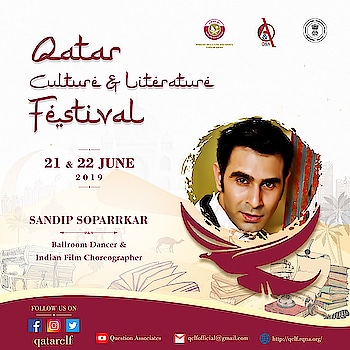 Qatar 🇶🇦 Culture and Litreture festival... humbled to be a part of this unique event...  Thk @ceo_ruhi  @anamikawrites n team @question_associates_ for choosing me to represent India at such a celebrated platform.. and talk abt my national excellence award winning initiative 'Dance for a Cause' and also about the dance trends in India...  #india #qatar #doha #dohaqatar🇶🇦 @qatarclf #culture #litreture #festival #event #cultureevent #litreturefestival #litfest #2019 #sandipsoparrkar #danceforacause #indiafineartscouncil #culturalexchange #experience #talk #session #talksession #dance #dancetalk #lectureaddict #bollywood #honest #thoughts #roposoers #roposotalks #ropososession