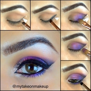 Colorful Eyeshadow 💜🌟#eyeshadow #eyeshadowtutorial #eyemakeup #eyeshadowpalette #makeuptutorial #eyebrows #eyebrowsonfleek #eyebrowsonpoint #falselashes #makeuptutorial #makeuponpoint #geleyeliner #eyeliner