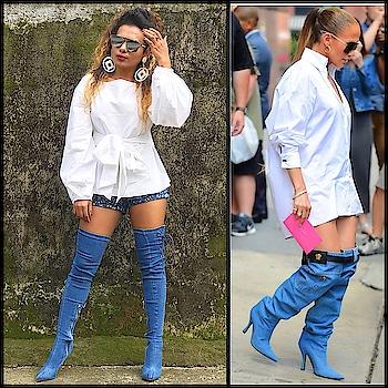 #celebrityinspiredoutfits #love #jenniferlopezstyle  Outfit:  Top: #koovsxyou  Shoes: #sheinofficial  Shorts: #luluandskyofficial