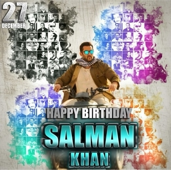 @beingsalmankhan In a perfect world, there would be peace and happiness and more people like you. A Fabulous and memorable happy birthday #BoxOfficerecords #TRPrecords #Biggestcrowdpullerofthenation #Savingmanylivesdailythroughhischaritabletrust #mostlovedstar #love #hope #care #beinghuman #goldenheart #downtoearth #kind #tigerzindahai #salmankhan #bossofboxoffice  #HappyBirthdaySalmanKhan