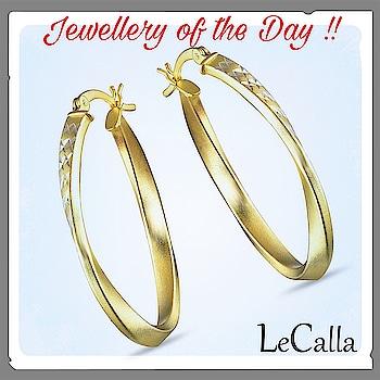 #LeCalla Jewellery of the day !! Grab now: https://goo.gl/2jioHX #AmazonUS #SilverJewellery #Newyear #fashionjewellery #usa #fashionusa #trendyjewellery #hoopearrings #onlineshopping #photooftheday #silverjewelry #roposo #instapic #fashionista #instajewellery #roposojewels #earrings #silverearrings #goldplated #diamondcut #twisted #usfashion