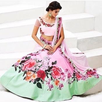 Pink And Green Heritage Silk Lehenga Choli  Product code - FCL282  Available at www.fashionclozet.com  Watsapp - +91 9930777376 Email -  info@fashionclozet.com Or DM for enquiries.  #indowestern #indianfashion #india #indians #diamirza  #indiancricketteam #teamindia #chudidar #newzealand #bride #desibride #indianbride #pakistanibride #pakistan #bollywood #desifashion #desi #desibridal #wedding #weddinginspiration #dulhan #shaadi #indianwedding #desiwedding #weddingdiaries #weddingphotography #pakistanifashion #desicouture #pakistani #indianfashion