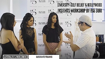 Self Image & #Bollywood Workshop in Australia 🇦🇺 | also available worldwide. Learn More: http://rajsuri.net/face-the-camera/ #Acting #Grooming #International #Image Mentor - @rajsuri