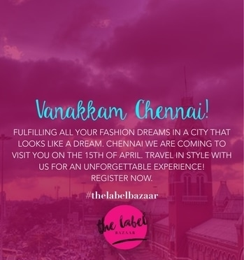 Have you registered yet? If not, write to us at teamlabelbazaar@gmail.com and book your stalls now! #thelabelbazaar #threetimesthefashion #threecitytour #tlbseason3 #tlbsquad #fashion #fashionx3 #exhibition #registernow #registrationsopen #style #sale #shopping #booking