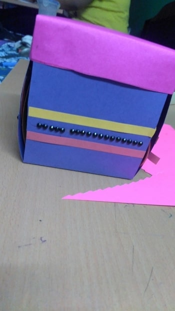 """my friend's b'day is on coming sunday and I have started to make a gift for him. """" A explosion box""""  #crafty #craftwork #well-crafted #crafting #craftoholic #explosionbox #explosion #explosion box #card #gift #giftbox #creative #creativemind #blogging #blogger #delhifashionblogger #delhites"""