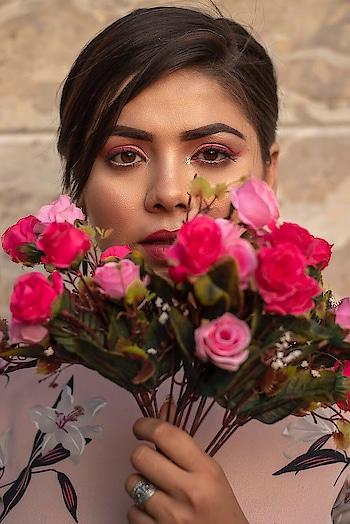 Sneak peak to the look coming for @bebohobi  Stay tuned 💯 . . . . . 📸 @daniii_sayed  MUA @prabhneet_bajaj Dress: @bebohobi  #Fashion #fashionaddict #fashionblogger #indianblogger #bebohobi #bebohobixyou #spring #ootdmagazine #plixxo #plixxobypopxo #plixxoblogger #makeupartist #makeuplove #floral #floraldress #pinkdress  #bellsleeves #fashionblogger #indianblogger #lucknowblogger #streetwear #streetstyle #streetstyleblog #streetstylefashion #streetstyleblogger #vartikasaraswat #thewinsomesoul