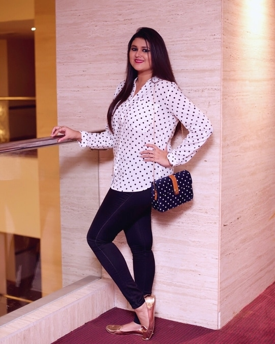 Bringing in the 90's polka dots back in trend! 😍💗💁🏼🙆🏻 Be your own kind of beautiful this season with @Promod 😇 Add more style statements to your wardrobe #myntra.com/promod #promodindia 💥❣️💭 .. .. 📷 - @jyotikabaijal #promod #TCPxPromod #thecelfieprincess #awesomesauce #100happydays #lovestagram #picoftheday #bestoftheday #casualstyle #fashionblogger #luxurylifestyle #positivevibes #bloggerstyle #bloggerdiaries