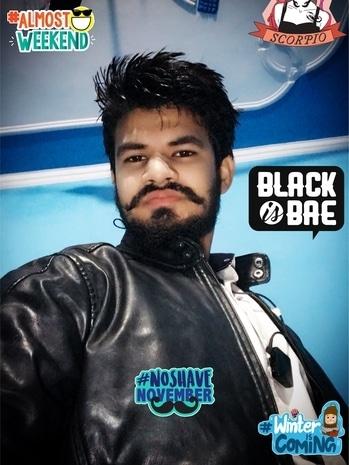 Riding gears change!!!👕 #safetyfirst #favjacket #sony #leatherjacket #beard #noshavenovember #noshavelife #scorpion #goodmorning #beard #beardeddragon #jaat #jatti #jaatism #kundimuchh #newhairstyle #blackisbae #almostweekend #noshavenovember #winteriscoming #scorpio #ZodiacSigns #black