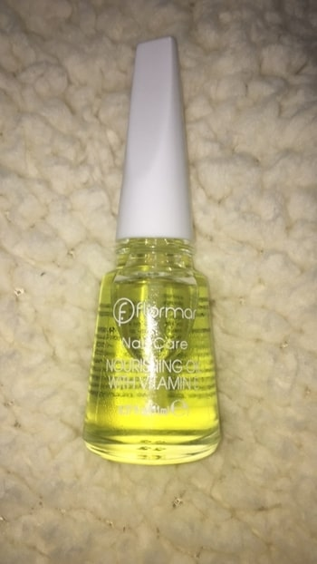 from #flormar turkey brand - for nails nourishing oil with vitamin #roposoblogger