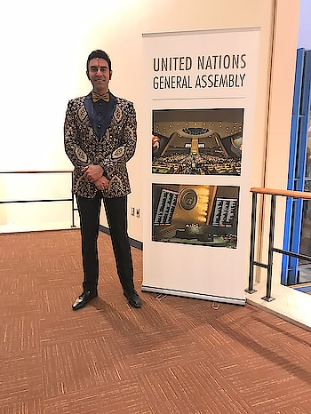Visit to @unitednations 🇺🇳 Headquarters .. to attend the SPICE ( Society for Promotion Of Indian Culture and Experience) event.. was an incredible experience... Thk u Promila Suri Maam (President Spice) and Varsha Naik ji for believing that my presence can make the difference...🙏🙏  Thk u @chhaya_gandhi121 and Nikhil Gandhi for dressing me up for this very special appearance... 💐💐💐 #un #unitednations #danceforacause #worldrecognition #sandipsoparrkar #lovedance #dancedairies #worldpeace #unitednationsheadquarters #newyork #newyorkcity #designerwear #gratitude #thankgod #roposo #roposotravel #loveroposo #danceroposo