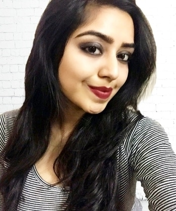 Bold makeup look done by me! #romanyapsarah #indianfashionblogger #makeup #beautyblogger #delhifashionblogger #roposolove #roposo