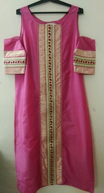 Simbha Creations #cottonsilk #cutwork #embroidery #coolsleeves #lovelypink #festivecollection #ethnicwear  #simbhacreations
