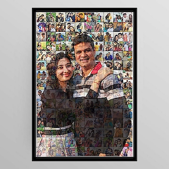 Order Done😊 Couple Special❣️ 👍3D Style PHOTO MOSAIC💞 👉without frame A4 size And Big A3 Size Available 👉soft copy by Mail Available👍 Create Your Memories ❤️Let your memories Shine✨ ✨ ❤️50-70 pics needed ❤️Dm for Order details💬 👉For order send Name 👉Address & pin cod 👉No COD🚷 #photo #photos #pic #pics #socialenvy #shopstemdesigns #picture #pictures #snapshot #art #beautiful #instagood #picoftheday #photooftheday #color #all_shots #exposure #composition #focus #capture #moment #hdri #hdroftheday #hdriphonegraphy #hdr_lovers #awesome_hdr