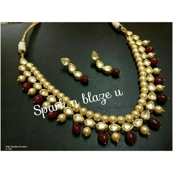 Kundan necklace with danglers earrings... Inbox me or you can ask in comments for place your order and any enquiry