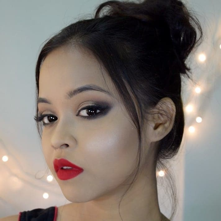 Check out the makeup tutorial on this look: link: https://youtu.be/LdkTvGaptvA . . . . . . . #partymakeup #partymakeuplook #makeuplook #makeuptutorial #makeup #eyemakeup #easymakeup #glam #glammakeup #superglam #superglamorous #partyready #partyreadylook #indianyoutuber #youtuber #indianblogger #makeupblogger #indianbeauty #indianbeautyblogger #indianmua #kolkata #bengaliyoutuber #bengaliblogger #bongbeauty #ropo-beauty #roposodaily #ropo-style