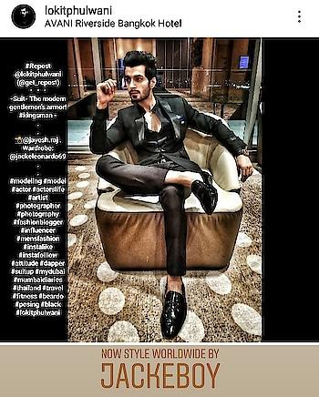 #Repost @lokitphulwani (@get_repost) ・・・ -Suit- The modern gentlemen's armor! #kingsman - . . 📸@jayesh.raj . Wardrobe: @jackeleonardo69 . . #modeling #model #actor #actorslife #artist #photographer #photography #fashionblogger #influencer #mensfashion #instalike #instafolllow #attitude #dapper #suitup #mydubai #mumbaidiaries #thailand #travel #fitness #beardo #posing #black #lokitphulwani