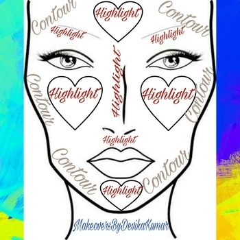 🎀Contouring & Highlighting Are Like Chocolate Syrup & Vanilla Ice cream🎀 ✨The Key To Fabulous Contouring & Highlighting Is Blending. ✨Highlight Points - Under Your Eyes In An Upside-Down Triangle Shape,Centre Of Forehead,Centre Of Chin, Cupidsbow,Bridge Of The Nose,EyebrowArch. ✨ Contour Points - Hollow Of The Cheeks, temples Of The Forehead,Jawline, Sides Of The Nose #facechart #makeoversbydevikakumar #makeupartist #followforfollow #like4like #beauty #beautyinfluencer #contour #highlights #facecharts #hudabeauty #roposo-makeupandfashiondiaries #roposomakeupartist