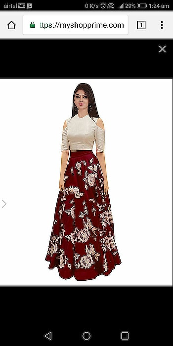 https://myshopprime.com/product/maroon-embroidered-lahenga-choli/66311844#open
