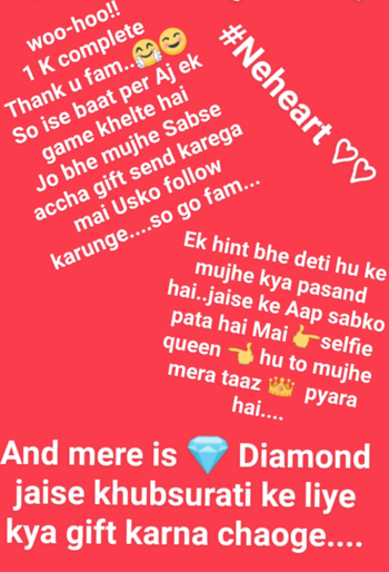 so guy's go and send me gifts..❤👑 💎 🌹🌺🎁 #roposofam #fam #treding #follow- #like