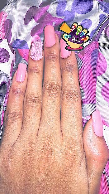 Beauty lies in pink 💗 #nail-addict #nail-designs #nailartaddicts #nailoholic #pinknails #nailartgems #nailart