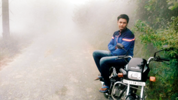 #splender #winter #morning_ride_