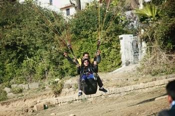 #paragliding #macleodganj #adventuretime #happening #uncertainty #fun #takeachance  #RunArisk #PutOnTheLine #