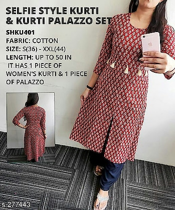 Whatsapp -> https://goo.gl/HdfK81 (+917048552454) 💖 *The Summers Holiday* 💖  😍 _Get 20% OFF On These Products From 19th-22nd May_😍  _Distressed denim collection are high in demand. With new wide range of denim kurtis, generate a new gala look for almost every occasion. Call it a casual day or friend's outting, this will never let you down._  Catalog Name: *Femme Denim Kurtis Vol 11*   Fabric: Denim  Sleeves: Sleeves Are Included  Size: S - 36 in, M - 38 in, L - 40 in, XL - 42 in  Length: Up To 44 in - 46 in  Type: Stitched  Description: It Has 1 Piece Of Kurti  Work: Embroidery  Dispatch: 2 - 3 Days  Designs: 7  Easy Returns Available In Case Of Any Issue #selfikurti
