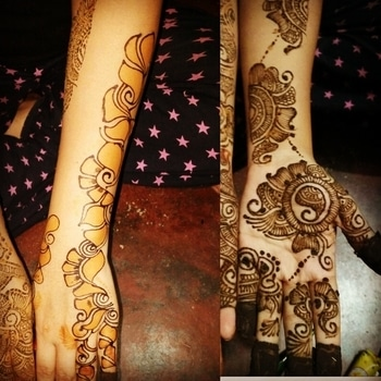 MEHANDI... my art😍😍