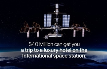 #russia is building a luxury hotel in space which will be stationed on the #InternationalSpaceStation! With an extra $20 million, you can go on a spacewalk with a professional also.