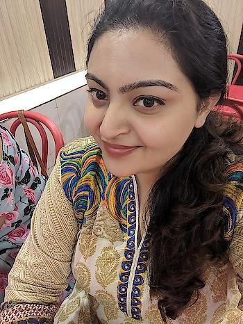 Sanskari ladki 😍 #roposobeauty #selfie #love #smile #beauty