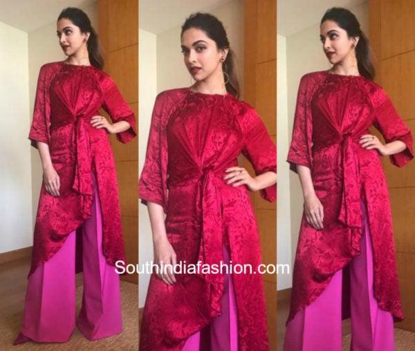 Yay or Nay: Deepika Padukone in Zara.