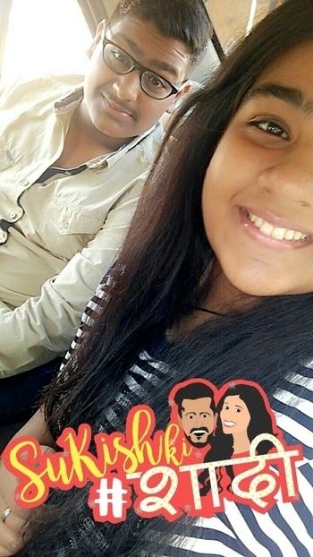 Congratulations to both ❤ Have a happy Married life ahead 💕 @suyyashrai @kishwermerchantt #SuKishKiShaadi