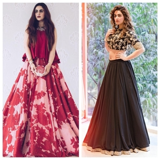 No one does festive quite like @loveandotherbugs. Which one would you wear? Tell us in the comments below.  #LehengaLife #SoRoposo #Roposo