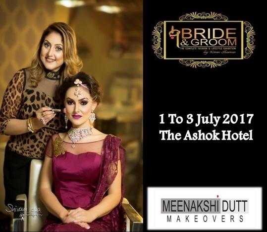 #meenakshiduttmakeoversdelhi #brideandgroomexhibition #july #exhibition #awesome